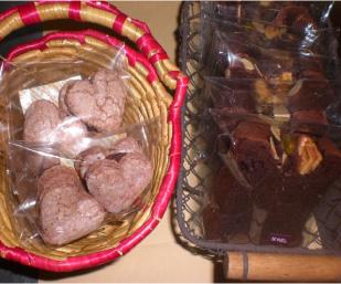 チョコ焼き菓子