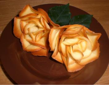薔薇クッキー細工